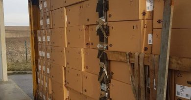 """У """"Раві-Руській"""" митники виявили контрабанди на 2 млн. грн."""