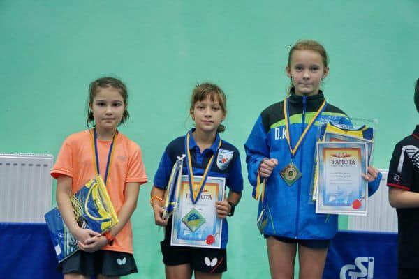 Юна тенісистка зі Жовкви стала чемпіонкою України