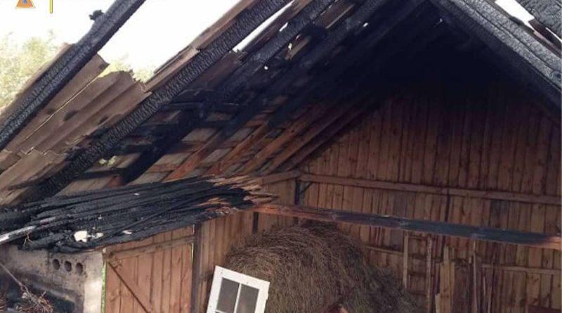 На Жовківщині від згоряння врятували 3 будівлі